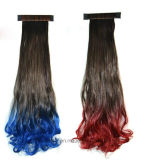 Form-Spitzenklatschen-Farben-Steigung-Birnen-Pferdeschwanz-Haar-Extension