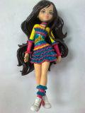 طفلة جميل بلاستيكيّة [هيغقوليتي] رقم لعب