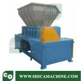 desfibradora doble de gran alcance fuerte del eje 1200-1500kg/H para el compartimiento plástico grande