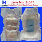 Bulk (541)のWholesale Diaper Premium Baby Diaperのための使い捨て可能なBaby Diaper