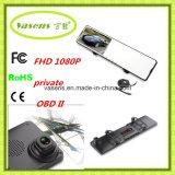 FHD 1080P verdoppeln Objektivrearview-Spiegel-Videogerät-Auto DVR