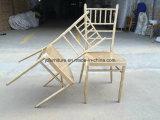 금 연회 Chiavari 알루미늄 의자를 겹쳐 쌓이는 Foshan