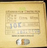Resistor de película del carbón del Rt Rd2w el 5% de los CF