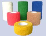 Atadura elástica autoadesiva do algodão de alta qualidade