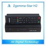 Ursprüngliches Satellitenempfänger-Linux OS E2 des Zgemma Stern-H2 verdoppeln Doppeltuners des Kern-DVB-S2+T2/C