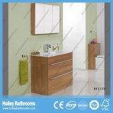イギリス熱い販売MDFは自由に床を張る永続的な角の浴室の虚栄心の単位(BF135V)に