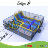 Indoor Square Slam Dunk Bounce Gimnasia Big Spring Trampolín
