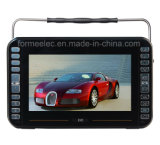 10.1 reprodutores de DVD do MP3 MP4 MP5 Portable da polegada com ISDB-TV