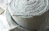Fio de alta temperatura dos Ss de matérias têxteis de pano da fibra cerâmica da isolação