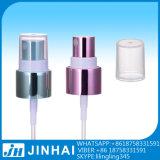 Pulverizadores cosméticos brancos plásticos de 20/415 de névoa com PP Overcap