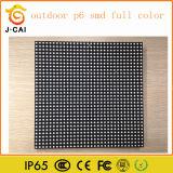 Placas de exposição ao ar livre do diodo emissor de luz da cor cheia de P6 SMD