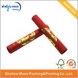 Caixa de carimbo quente da câmara de ar do papel do logotipo da folha de ouro (QYZ315)