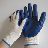 Smooth Latex Palm Coated Gloves Protección laboral Protección de trabajo Guante