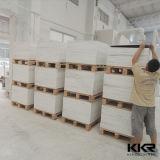 Folha de superfície contínua acrílica branca material da mobília (61017)