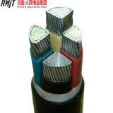 Медный силовой кабель оболочки PVC проводника изолированный XLPE стальной бронированный