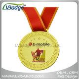 記念品のギフトが付いている供給の高品質亜鉛合金のスポーツメダル