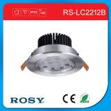 Scaldare/indicatore luminoso di soffitto decorativo residenziale bianco puro del LED