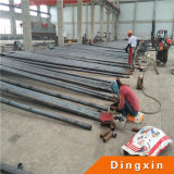 el 11m Hot Deep Galvanized Octagonal Steel poste