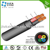 Cable sumergible eléctrico redondo de la bomba de la alta calidad