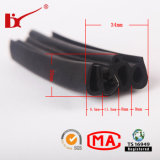 Automotive Door Weather Rubber Strip / Sunroof Water Stop Rubber Strip