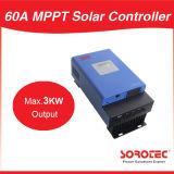 LCD Controlemechanisme van de Last van de Output 3000W 12V MPPT van de Vertoning 60A het Maximum Zonne