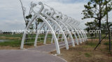 Steel Structure Outdoor Modeling Galvanized Material의 새로운 Design