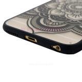 Transparante Klassieke Bloemen Mobiele TPU/het Geval van de Telefoon van de Cel voor Samsung