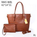 品質のファッション・デザイナーPUの女性の財布のトートバックのハンドバッグ