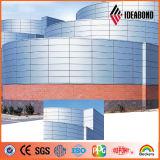 El panel compuesto de la pared externa del espesor PVDF de Ideabond 4m m (AF-408)