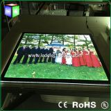 Diodo emissor de luz acrílico Light Box de Board Acrylic Sheet Crystal para Picture Frame