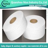 Papier en tissu de matières premières pour couches chinoises avec SGS (BJ-056)