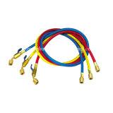 Rouge, bleu, jaune R12, R22, R134A Tuyau de recharge de fluide frigorigène