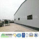 Almacén prefabricado de la construcción de la estructura de acero del edificio