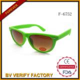 F-6752 óculos de sol plásticos unisex, FDA&Ce