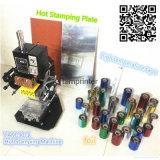 Papel de cuero del pequeño arte Tam-90-1 y troqueladora de la hoja caliente plástica