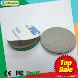 de Klassieke 1k markering van de de schijfschijf van pvc 13.56MHz RFID MIFARE met zelfklevende lijm