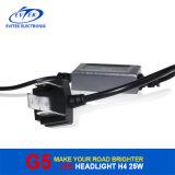 Linterna H4 9004 de los bulbos 25W 3200lm LED de la linterna de Fanless LED linterna del coche 9007 H13