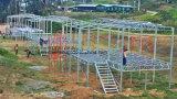La construcción durable Desing para la casa prefabricada de acero resiste la inundación