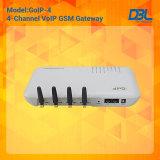 DBL quarto / 8 canais GSM VoIP Gateway (GoIP-4) P2P ATA / GSM Gateway SIP