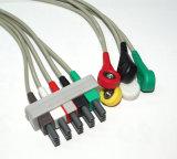 Câble du fil ECG de Philips Snap&Clip 5