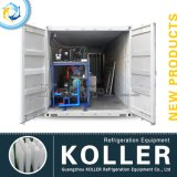 Koller Containerized машина льда блока, машина льда тузлука для портов