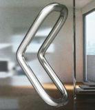 Manija moderna del tirón del acero inoxidable 304 para la puerta de cristal (01-110)