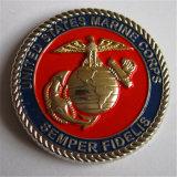 Alta qualità noi moneta di anniversario del Corpo della Marina con il bordo della corda