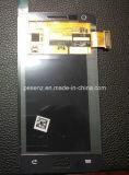Affissione a cristalli liquidi degli accessori del telefono mobile per lo schermo di tocco di Samsung GT I9100