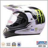ECE涼しい無光沢の黒いMotorcrossのヘルメット(CR404)