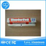 Papel de envolvimento laminado dos doces da folha de alumínio