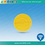 고품질 13.56MHz Mf S70 RFID 동전 지하철 징표