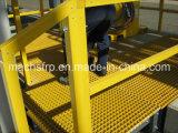 La plataforma de FRP/GRP/Fiberglass moldeó la reja
