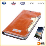 iPhone를 위한 가장 새로운 High Quality Genuine Leather Case 6 6s