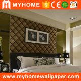 Schönes Samt-Wand-Papier scharte sich Tapete für Hauptdekoration